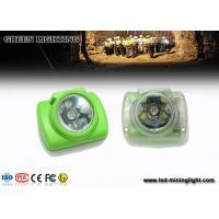 15000 Lux LED Mining Light , Illuminance Oled Screen Miners Cap Lamp 1W