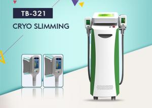 China 5 Handles 1800W Cryolipolysis Slimming Machine For Cellulite Reduce Fat Freezing Cavitation RF Machine on sale