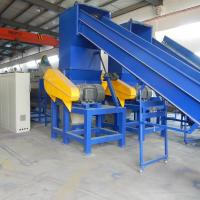 China High Output Plastic Recycling Line , Plastic Film Recycling Machine / Equipment on sale