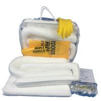 Emergency oil spill kit, 30 L spill kit, oil leaking absorbent kit, oil cleaning kit