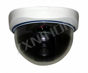 China CE RoHs Sony / Sharp CCD 2.5'' IR Board Weatherproof Vandalproof Plastic Dome Camera NCDQ on sale
