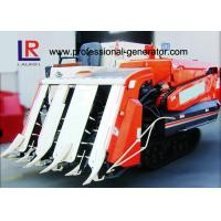 China Semi - Feed Vertical Threshing Mini Paddy Agricultural Equipment Combine Harvester Track Type on sale