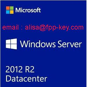 China Microsoft License key ,for window server 2012 r2 datacenter oem key , 2 cpu on sale