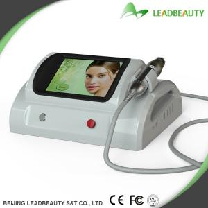 China Professional Microneedle Fractional RF Facial Machine 0.25-3mm Length of needle; on sale
