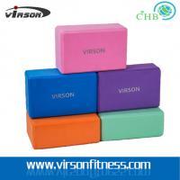 Ningbo Virson Yoga Pilates Stretch Exercise Gym EVA Foam Yoga Block / Brick