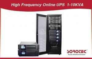 Quality 1 - El estante en línea de 10 KVA monta la fuente de alimentación ininterrumpible de UPS con la protección de puente for sale