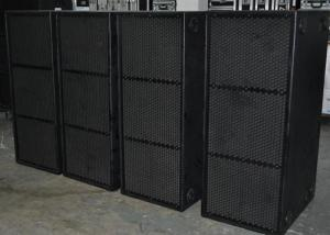 China Professional Subwoofer Speakers 4 Ohm 2400W RMS 2 x 18 LF for Large Scale Audio System on sale
