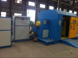 China Fuchuan 100mm Cable Twisting Machine , Single Twist Core Wire Stranding Machine on sale