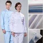 Polyester Cotton Hospital Workwear Fabric Medical Uniform Fabric
