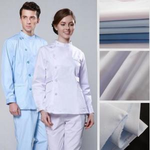 China Polyester Cotton Hospital Workwear Fabric Medical Uniform Fabric on sale
