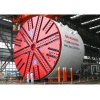 China Slurry Pressure Balance Tunnel Boring Machine With Panel Cutter Head Electrical Motor Drive on sale