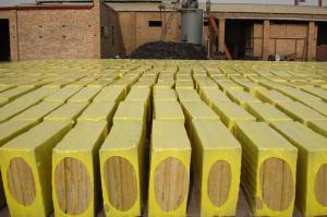 China Low Thermal Conductivity Rockwool Insulation Board , Mineral Wool Slabs OEM on sale