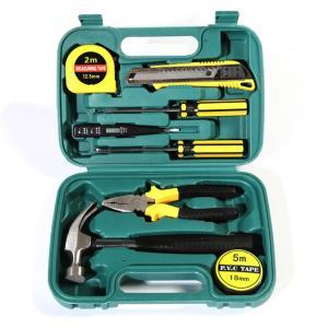 China 9PCS Mechanics Tool Set Professional Hand Tools Hardware Tool Kit on sale