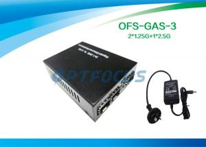 China 2.5G Gigabit Fiber Media Converter on sale