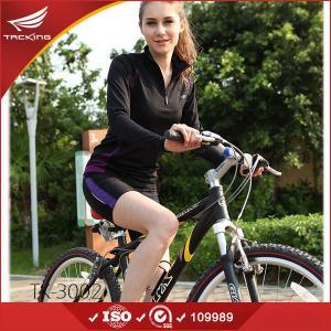 China Padded Mountain Bike Shorts Women New Design Lady Shorts Elastic Bike Shorts on sale