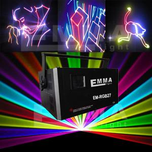 China 4000RGB 4W Full Colour Laser System with ILDA, DMX,SD card and Auto/Music on sale