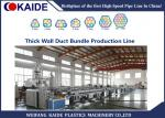 4 ways 7ways Microduct Bundle Making Machine , Duct Bundle Production Machine  for Optical Fiber Cable