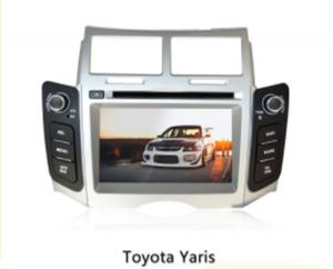 China 8 Inch Automobile Gps Navigation Systems Windows Ce6.0 Operation System For Toyota Yaris on sale