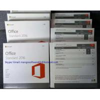 China Genuine Microsoft Office Home Business 2016 Retail Key Activation Online DVD Media on sale