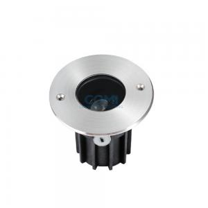 China Mono RGB 4W RGBW In Ground Spotlights , IP67 24VDC Round Lighting For Outdoors on sale