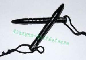 Quality Terminator kubotan Black Aluminum Kubaton/police expandable baton for sale