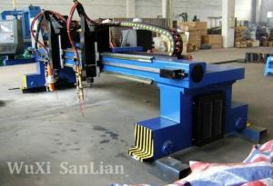 China Machine industrielle 50HZ 380V, de coupeur de plasma de commande numérique par ordinateur de Hypertherm moteur 0.75kw servo on sale