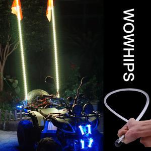 4FT ATV LED Flag Light RGB LED Flagpole with Wireless Remote LED