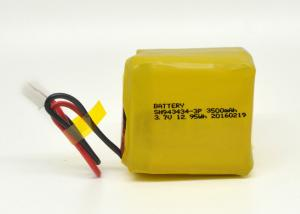 China 66.0g 3.7V 3500mAh Lithium Polymer Battery Pack 943434-3P T9.6*W34.5*H34.0mm on sale
