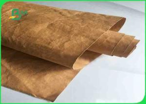 China Biodegradable Washable Kraft Liner Paper 30 Colors 0.55mm 350 G For Backpacks on sale