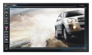 China (УНИВЕРСАЛИЯ 5) 6,95 ДВД-плеер автомобиля шума дюйма 2 с ГПС, блуэтоотх on sale