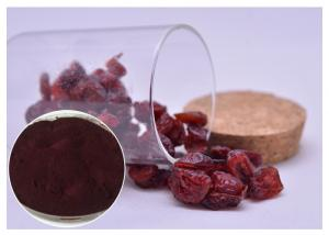 China Skin Moisturizing Antibacterial Plant Extracts Dark Red Powder From Cranberry on sale