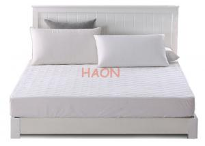 China Comfortable quilted mattress protector With Non-woven Bag Retail Packing on sale