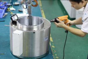 China 300mm Inner Size Through Bore Slip Ring 50RPM Max Speed For Large Diameter Shaft on sale
