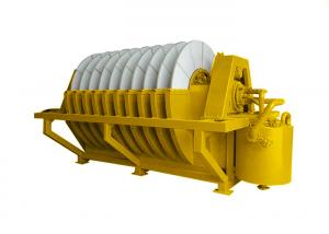 China Vacuum Filter Mineral Processing Equipment 22KW Running Power Ceramic Vacuum Filter on sale