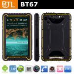 IP67 3Gは二重カメラの人間の特徴をもつ険しいタブレットのPC BT67を防水します