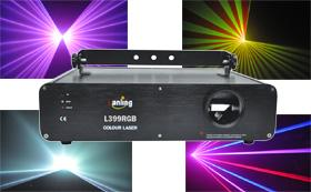 China 1000mW TE-cooled RGB Full Color Laser Projector L399RGB on sale