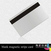 13.56MHZ Glossy PVC Magnetic Stripe Cards With Colorful Printing
