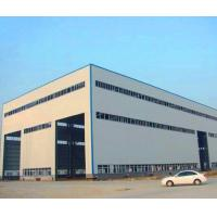 GB Hot Rolled Steel Prefabricated Steel Structure Metal Storage Shed