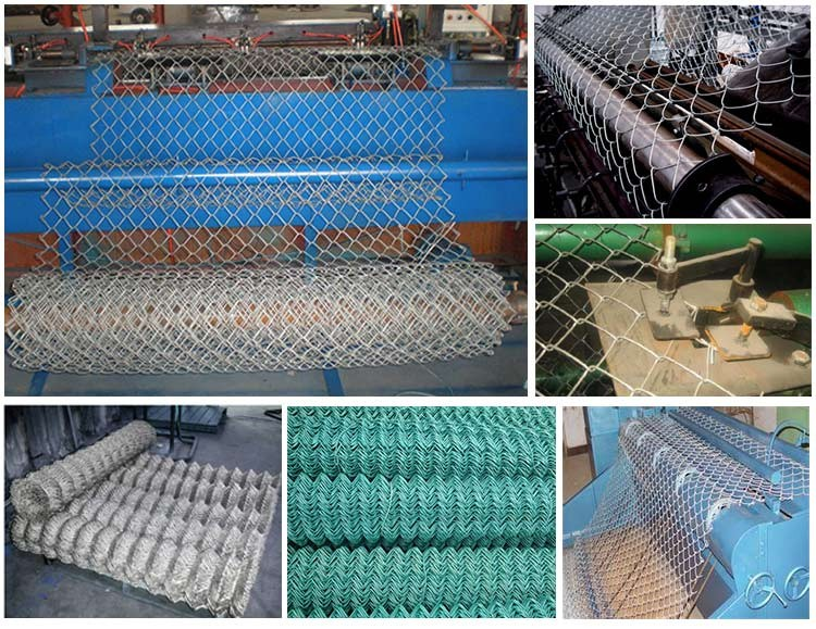 Diamond wire mesh/6ft Black Vinyl Coated Galvanized Chain Link Fence ...