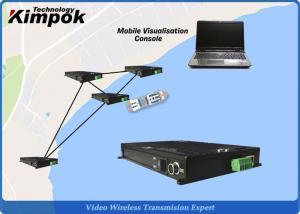 China 5W RF Wireless Ethernet Radio LAN Transmitter FDD-COFDM Full Duplex Wireless Transceiver 550Mhz on sale