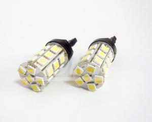 China T20 7440 5050 27 SMD LED Car Lights / 12v Bright White Color LED Lamp on sale