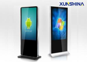 China LED Backlight I3 Dual Core Touch Screen Monitor Kiosk With Stand on sale