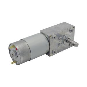 China High Torque 12v 24v dc worm gear motor 550 dc motor with 50kg.cm worm gearbox for sunroof driving on sale
