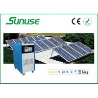 Off grid Home industrial Solar Power System for PV charging CE / ROHS