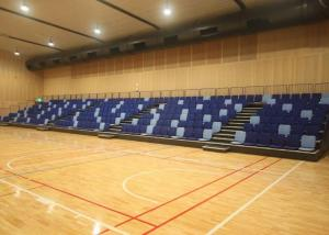 China Movable Modular Grandstands / Folding Seating System For Multi Use Environments on sale