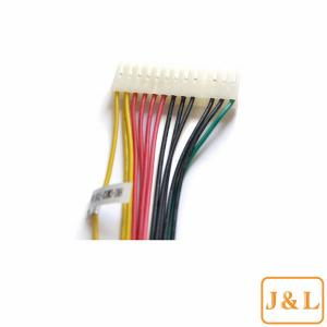 China 20 Pin Molex Cable Assembly Custom Electric Wire Harness Replacement on sale