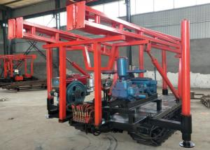 China Professional Exploration Drill Rigs / XY-1B Crawler Mounted Drill Rig 380V on sale