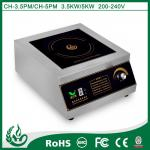 3500w Commercial Stainless Steel Induction Cooker