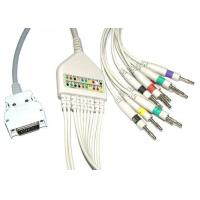 Surgical Plastic EKG Cable Long Screws Snap IEC With Defibrillation , Non - Toxic