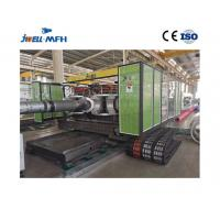 China Jwell Brand Horizontal DWC Pipe Extrusion Machine Double Wall Corrugated Pipe Extruder on sale